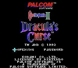 Castlevania III - Dracula's Curse